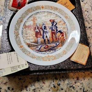 The Story of a plate .. Lafayette Legacy Collectio